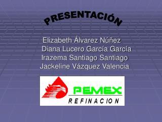Elizabeth Álvarez Núñez      Diana Lucero García García    Irazema Santiago Santiago