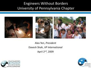 Engineers Without Borders University of Pennsylvania Chapter