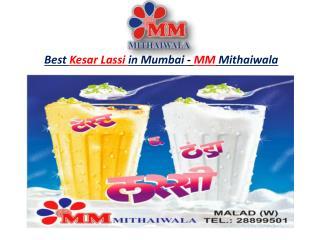 Best Kesar Lassi in Mumbai - MM Mithaiwala