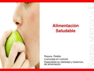 Alimentaci n Saludable