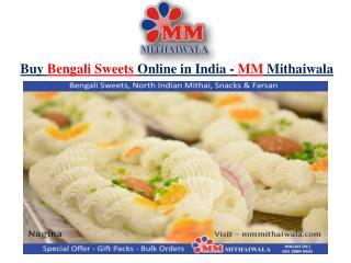 Buy Bengali Sweets Online in India - MM Mithaiwala