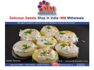 Delicious Sweets Shop In India-MM Mithaiwala