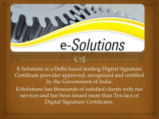 how to get digital signature certificate free