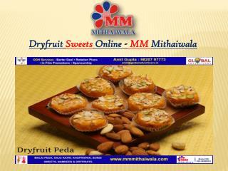 Dryfruit Sweets Online - MM Mithaiwala