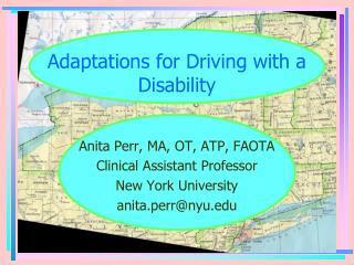 Adaptations for Driving with a Disability
