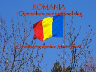 ROMANIA 1December- our national day
