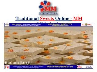 Traditional Sweets Online - MM Mithaiwala