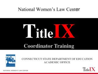 National Women's Law Cent er