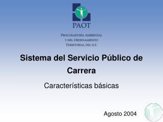 Sistema del Servicio Público de Carrera