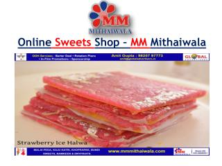 Online Sweets Shop – MM Mithaiwala