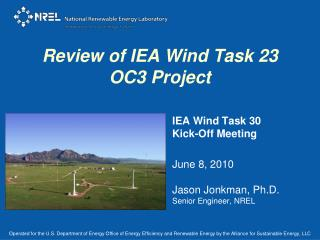 Review of IEA Wind Task 23 OC3 Project