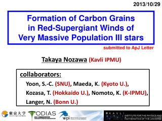 Formation of Carbon Grains  in Red-Supergiant Winds of  Very Massive Population III stars