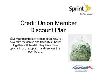 Credit Union Benefits