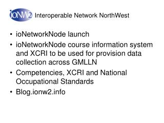Interoperable Network NorthWest