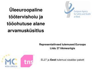 Üleeuroopaline töötervishoiu ja tööohutuse alane arvamusküsitlus