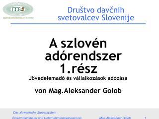 Društvo davčnih svetovalcev Slovenije