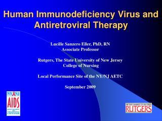 Human Immunodeficiency Virus and Antiretroviral Therapy