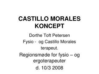 CASTILLO MORALES KONCEPT