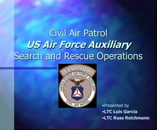 Civil Air Patrol  US Air Force Auxiliary Search and Rescue Operations