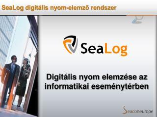 Digitális nyom elemzése az informatikai eseménytérben