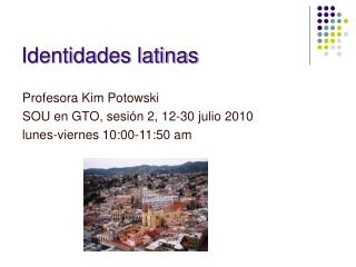 Identidades latinas