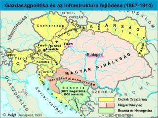 Gazdaságpolitika és az infrastruktúra fejlődése (1867-1914)