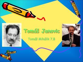 Tom� Janovic