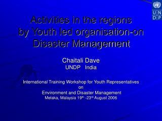 Youth Led Organisation