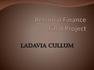 Personal Finance Final Project