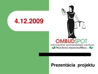 Prezentácia  projektu