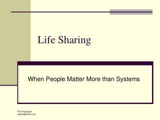 Life Sharing