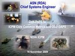 ASN RDA Chief Systems Engineer