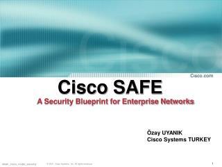 Cisco SAFE