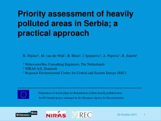 Priority assessment of heavily polluted areas in Serbia; a practical approach
