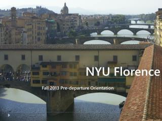 NYU Florence
