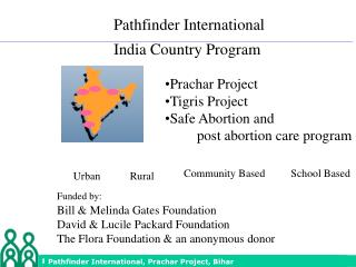 Pathfinder International  India Country Program