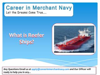 how to join reefer ships in merchant navy