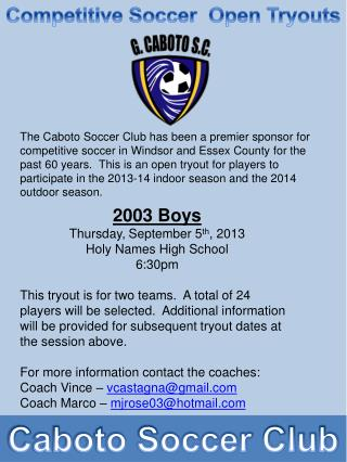 Caboto Soccer Club