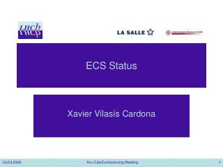 ECS Status