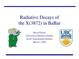 Radiative Decays of the X(3872) in BaBar