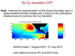 Sc-Cu transition CPT
