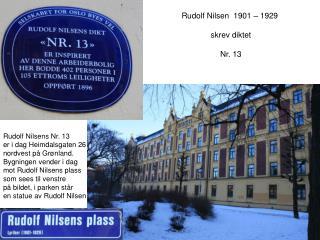 1901  -  1929