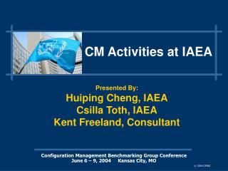 CM Activities at IAEA