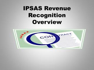 IPSAS Revenue Recognition  Overview