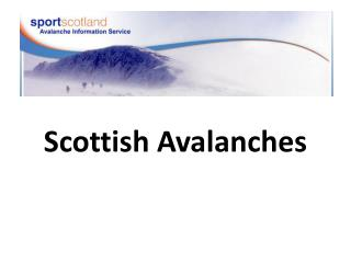 Scottish Avalanches