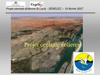 Projet centrale éolienne