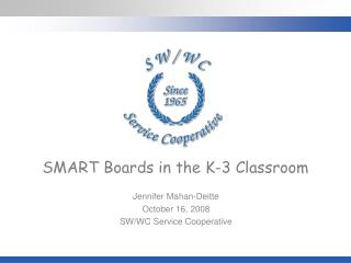 SMART Boards in the K-3 Classroom
