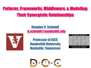 Patterns, Frameworks, Middleware, & Modeling: Their Synergistic Relationships