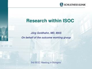 Research within ISOC
