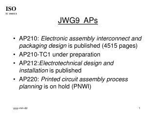 JWG9  APs